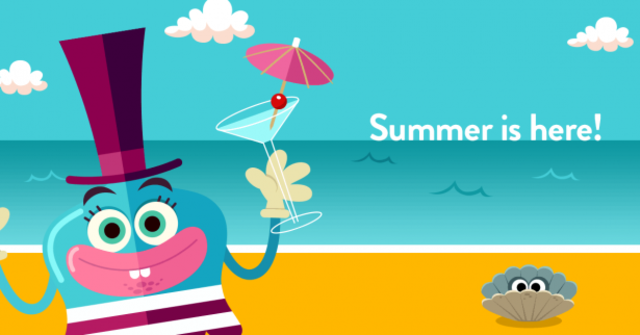 Happy Summer Holiday From Teach Your Monster To Read